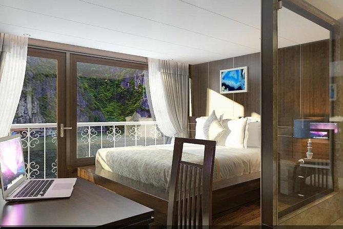 Unicharm Cruise Cat Ba Island Halong Bay Lan Ha Bay 3 days depart from Ha Noi