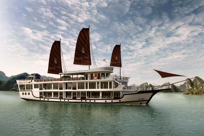 Perla Dawn Sails 2 days 1 night Ha Long Lan Ha Bay depart from Ha Noi