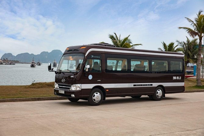 Ha Noi transfer to Ha Long Bay with luxury van