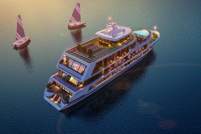 Truly 5 star Stellar Cruise Ha Long Bay Lan Ha Bay Discovery 2 days 1 night