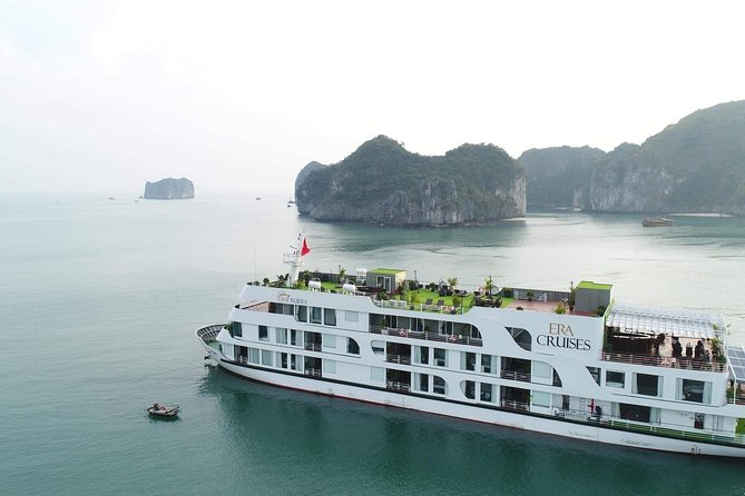 Combo package Boss Legend hotel and Era Cruise 4 days Lan Ha Bay from Hanoi