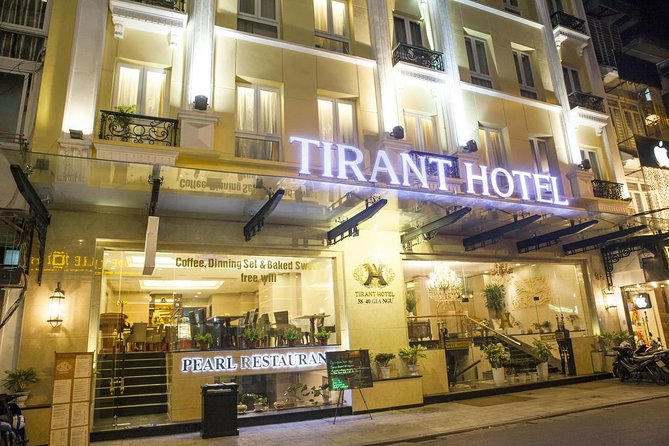 Combo package Tirant hotel and Era Cruise 4 days visit Lan Ha Bay from Hanoi
