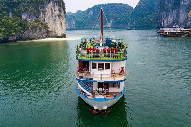 Explore Azela Cruise Ha Long Bay Lan Ha Bay 2 days 1 night from Hanoi