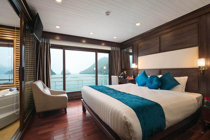 Halong Alisa Premier Cruise 2 Days Full Day Kayaking And Swimming Lan Ha Bay