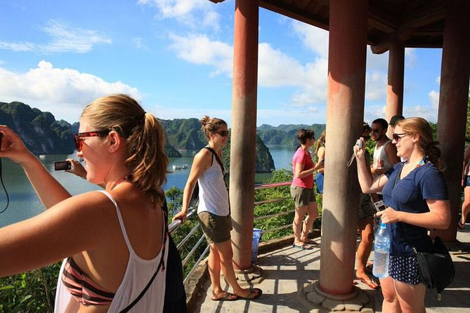 Apricot Halong Cruise Discovering Titov And Amazing Cave 2 Days 1 Night