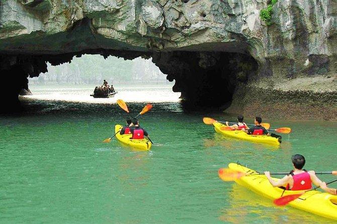 Halong Apricot 3 Days 2 Nights Visiting Titop And Amazing Cave Fully Kayaking