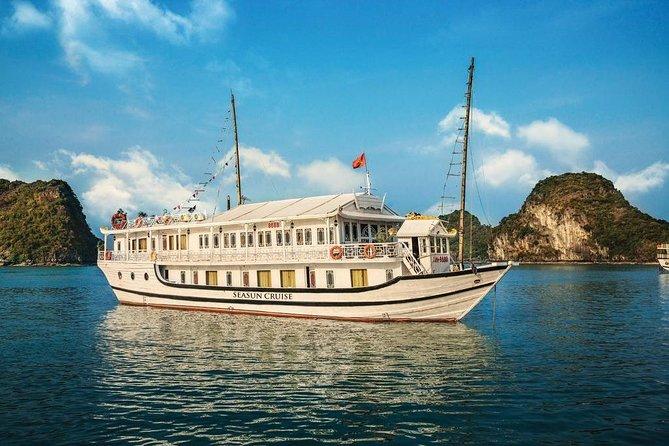Halong Seasun Cruise 2 days 1 night visiting and enjoying halong bay tour