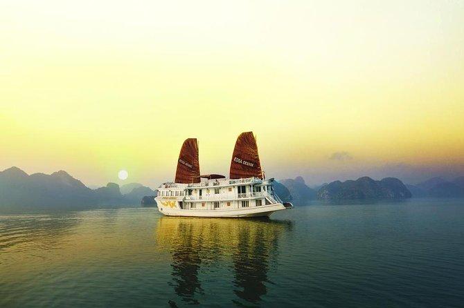 Halong Rosa Cruise 3 days 2 night visiting and kayaking Halong bay