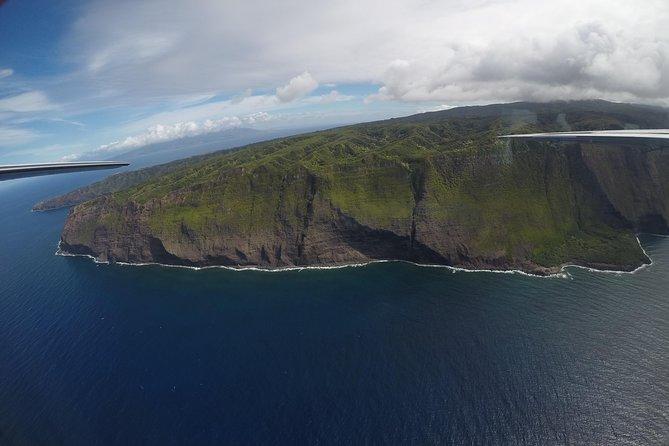 Splendorous Sea Cliffs of Molokai Air Tour - Kapalua Departure
