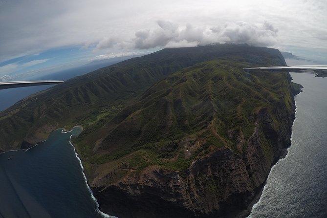 Molokai Topside Explorer Air and Ground Tour from Maui