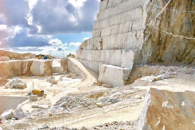 Carrara Marble Tour Small Group from Viareggio