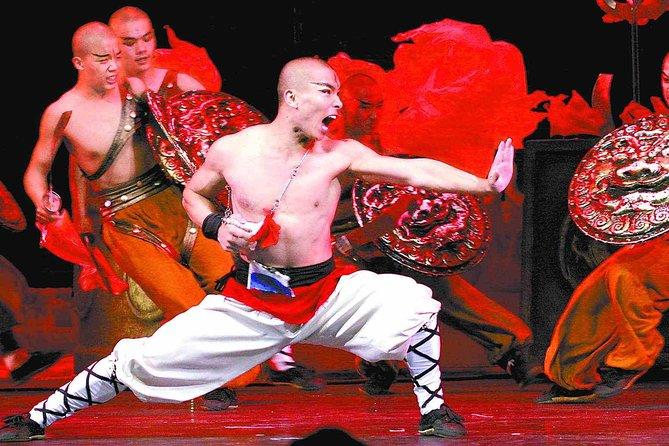 Attività serale: spettacolo di Kungfu e cena di anatra alla pechinese