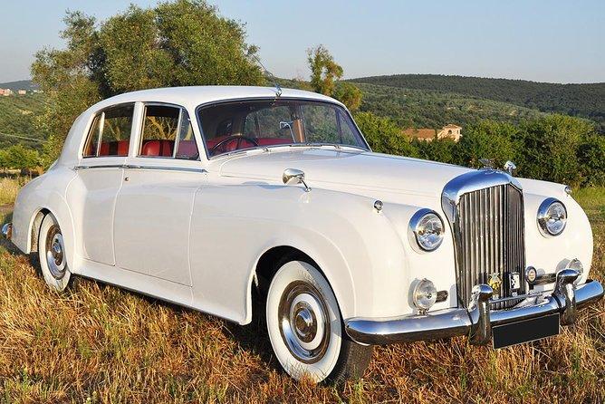 Rent a Car for Wedding: Silver 1953 Bentley