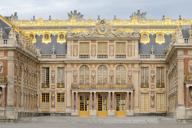 Palace of Versailles and Marie Antoinette's Estate from Paris