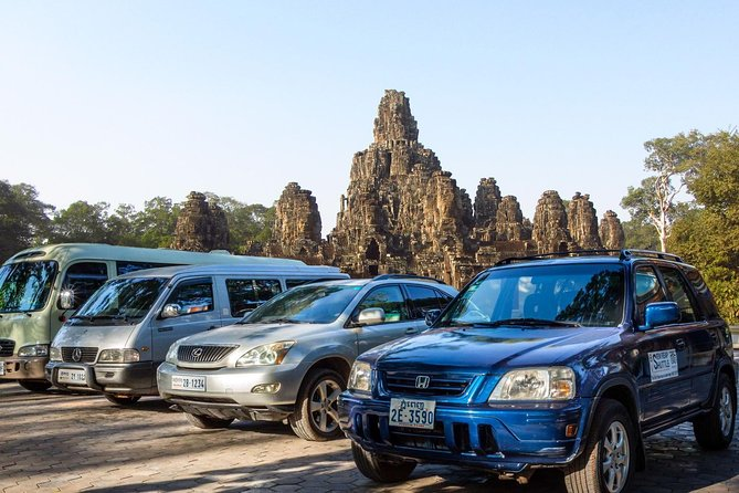 Private Angkor Day Tour (by Aircon Vehicles) with a 4-Course Lunch