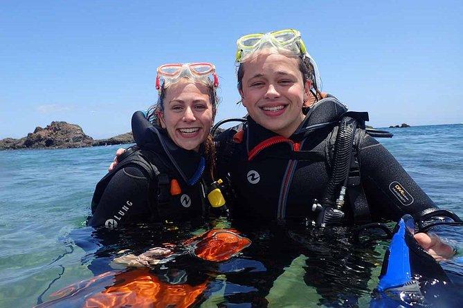 Discover scuba diving in Lanzarote