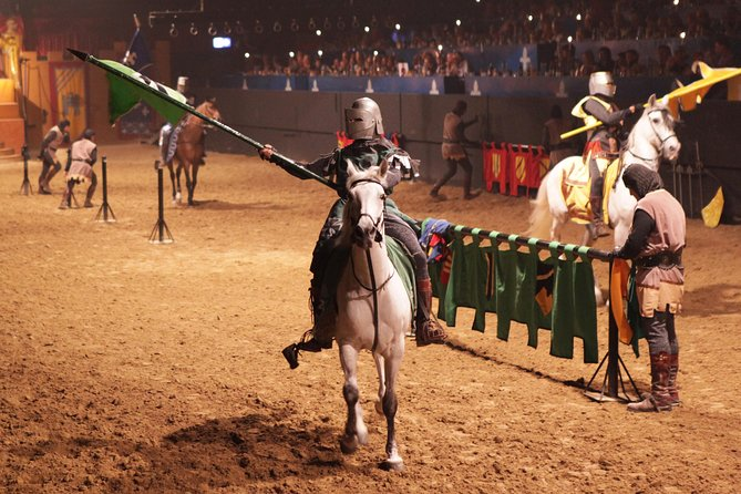 Valltordera Castle Medieval Tournament and Flamenco Show with Optional Dinner