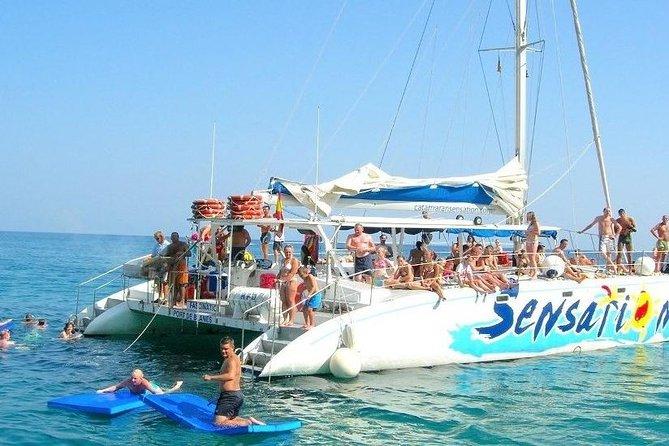 Barcelona Catamaran Party Segel
