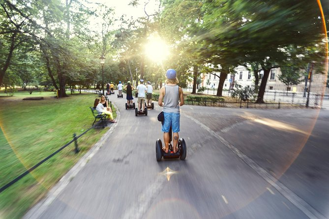 Kraków Segway Regular Tour and Sightseeing