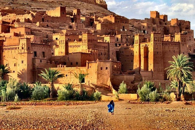 Day Tour From Marrakech To Ait Ben Haddou and Ouarzazate via Atlas Mountains