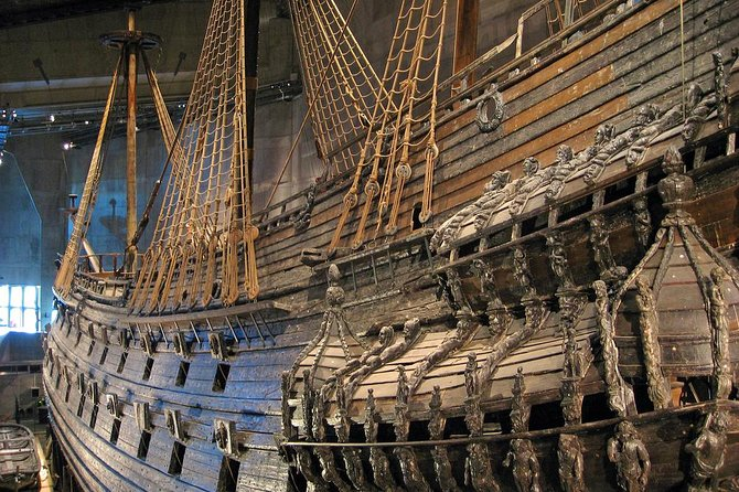 See the restored 17th-century Vasa warship at the Vasa Museum