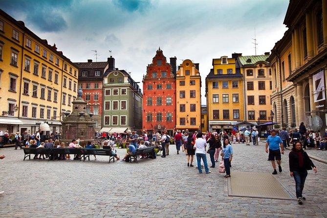 Excursion en bord de mer à Stockholm: visite privée de Stockholm à pied incluant le musée Vasa