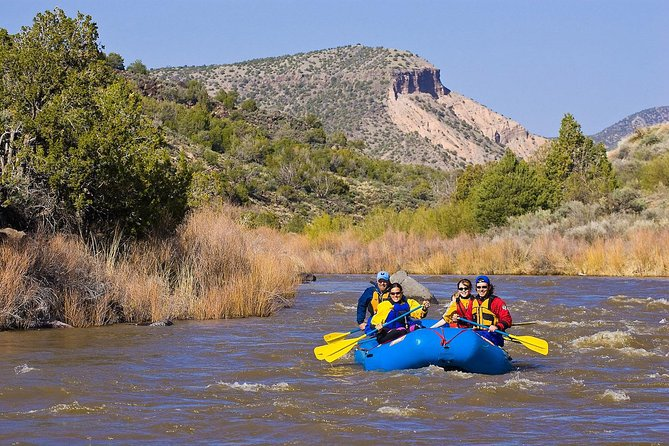 Family float on the Rio Grande