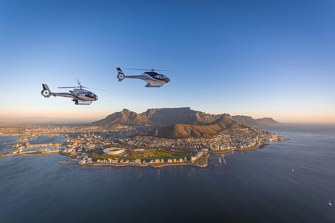 Two Oceans Scenic Helicopter Flight from Cape Town