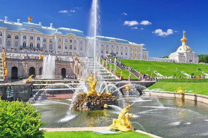 Half Day Excursion to Peterhof with a Grand Palace