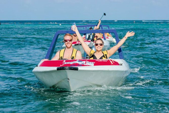 Cancun Jungle Tour Adventure: Speed Boat and Snorkeling