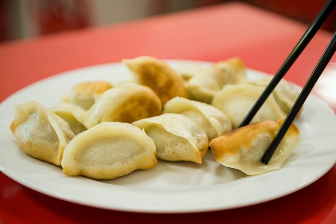 Fried pork dumplings!