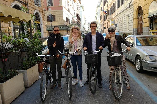 Una bicicleta para las villas en Roma
