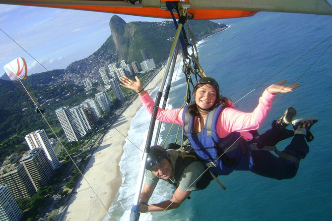 Excursão de asa-delta saindo do Rio de Janeiro