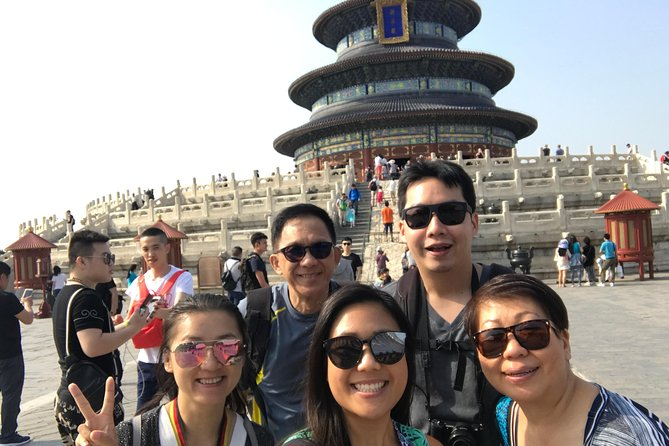 Privata halvtags Temple of Heaven och Lama Temple Tour med tunnelbana