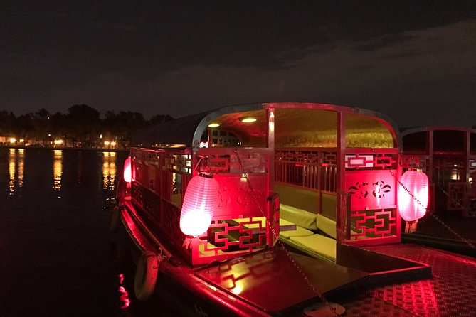Beijing Hutong Night Tour with Yunnan Style Dinner and Chartered Boat Ride at Houhai Lake photo 4