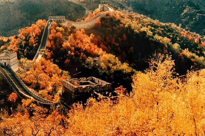 All Inclusive Beijing Mutianyu Great Wall and Hongluo Temple Private Day Trip