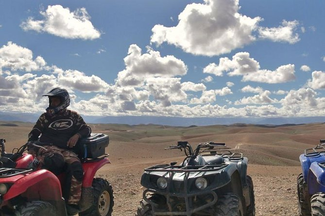 Half-Day Quad in Agafay desert