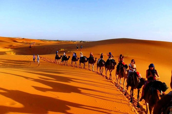 3 days - Private tour From Marrakech to Fes with desert experience