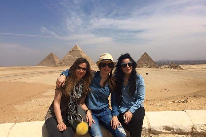 Full Day Tour Giza pyramids, Sphinx, sakkara, Dahshur,Camel Ride