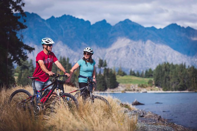 Tour en bicicleta de día completo por Queenstown Trails