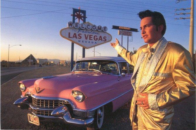Private Las Vegas Pink Cadillac Strip Photo Tour with Elvis