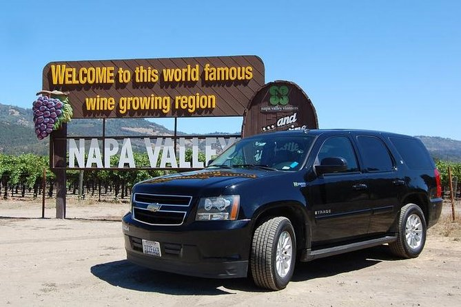 8 Hour Private Tour in Napa Valley Winery