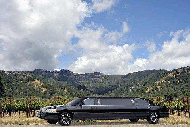 8 Hour Napa or Sonoma Wine Tour in Private Limousine