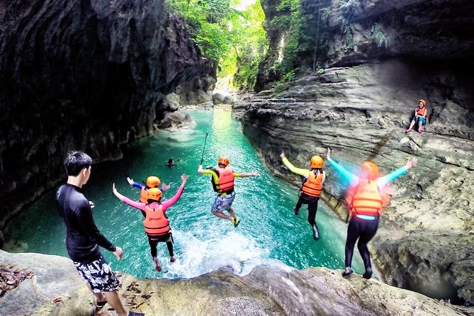 Kawasan Canyoneering Adventure Package from Cebu