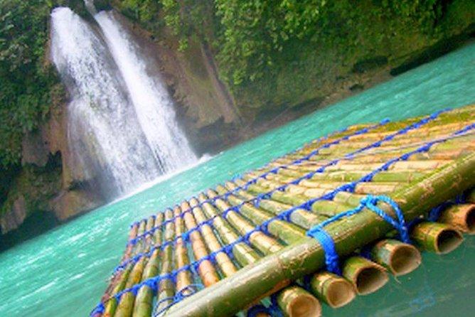 Kawasan Falls and Mantayupan Falls in One Day from Cebu