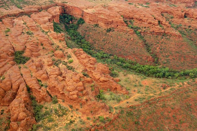 Scenic Flight from Ayers Rock: Uluru, Kata Tjuta, Lake Amadeus and Kings Canyon image