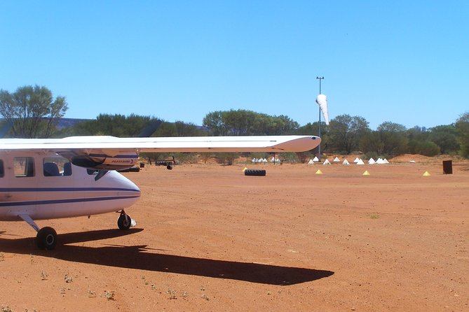 Uluru, Kata Tjuta and Lake Amadeus Half-Day Scenic Flight Tour image