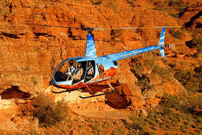 Uluru, Kings Canyon and Red Center Scenic Flight Experience