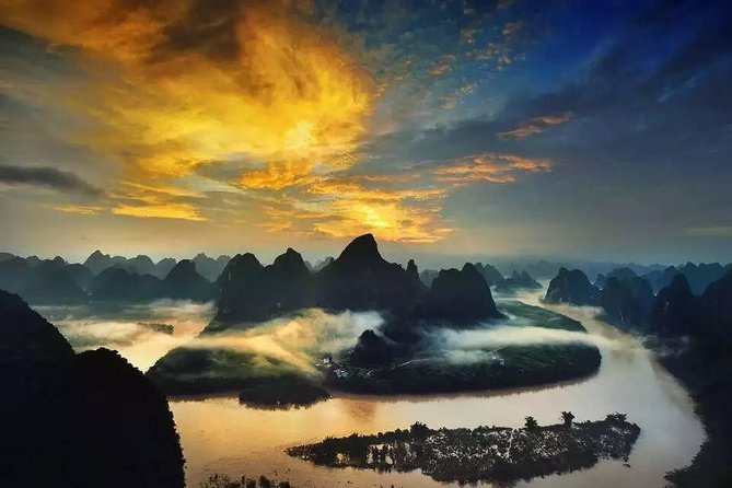 2-night Combo Package: Sunrise Photo of Yangshuo and Longsheng Rice Terraces