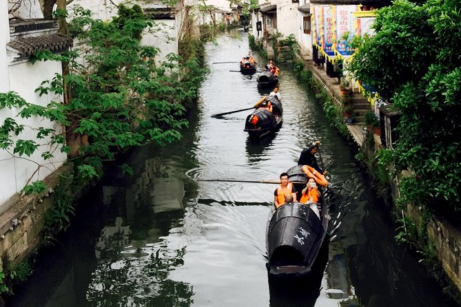 Coach Day Tour: Shaoxing Ancient Town with Lunch from Hangzhou